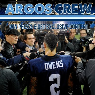 Become a member of our Argos Crew! Fans can win prizes and receive exclusive content from your Toronto Argonauts!