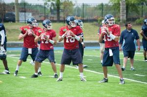 Argonauts quarterback Mitchell Gale (#16)