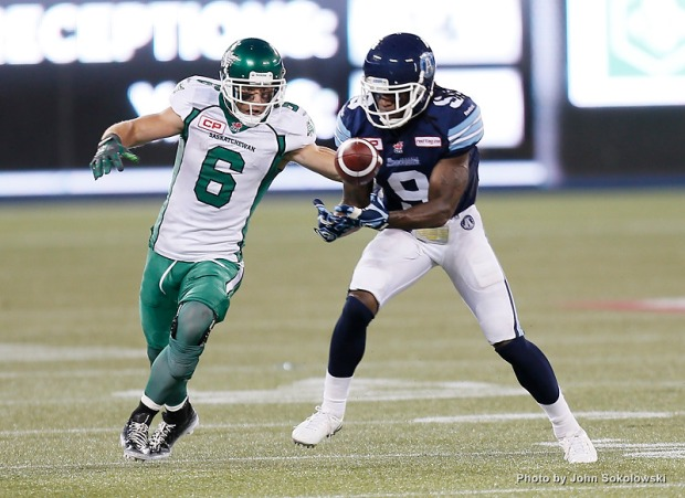 CFL: Saskatchewan Roughriders at Toronto Argonauts