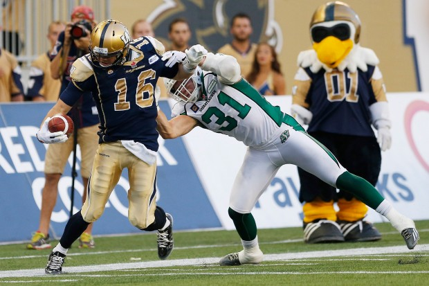 Winnipeg Blue Bombers v Saskatchewan Roughriders